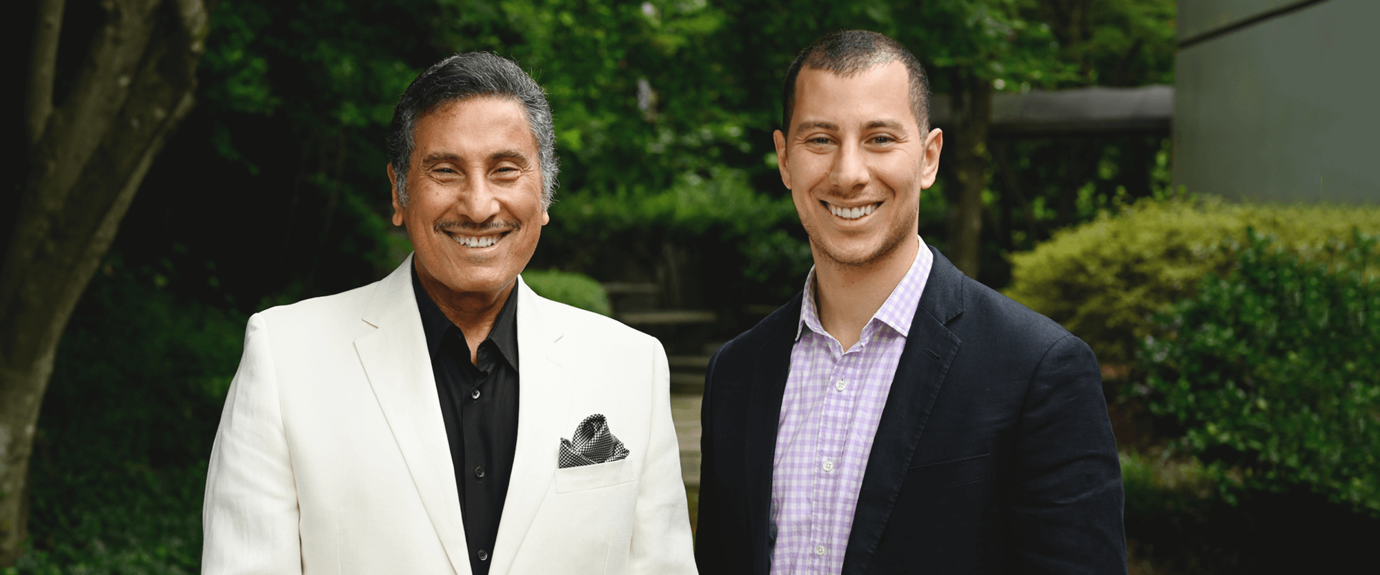 Photo of Dr. Michael Youssef and Jonathan Youssef