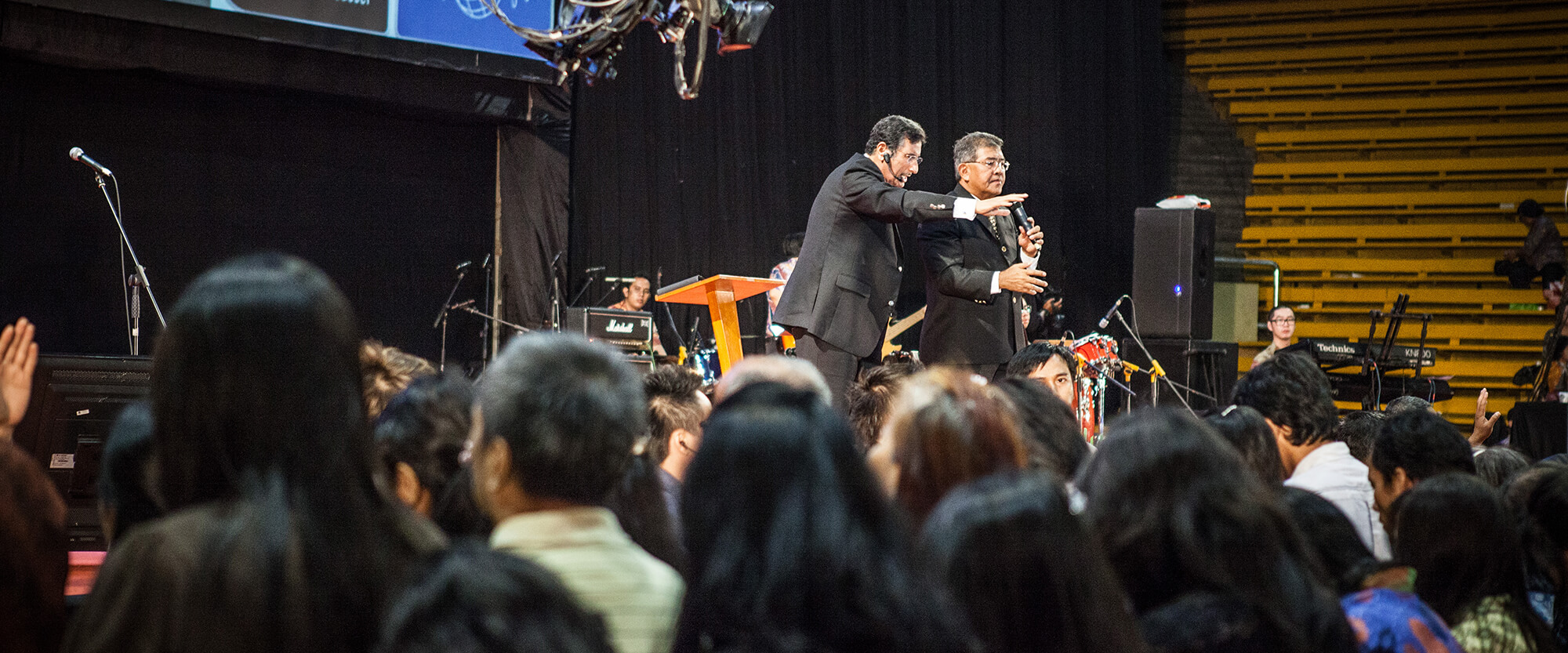 Michael Youssef Preaching in Indonesia